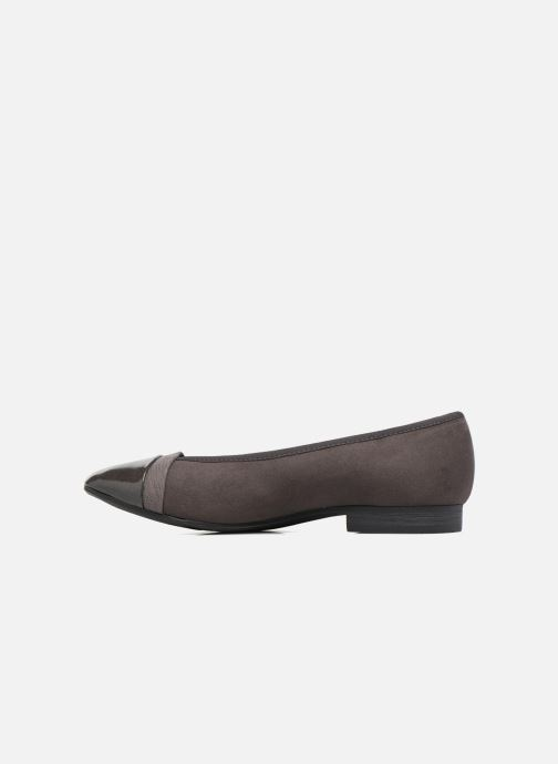 Bailarinas Jana shoes Luija Gris vista de frente