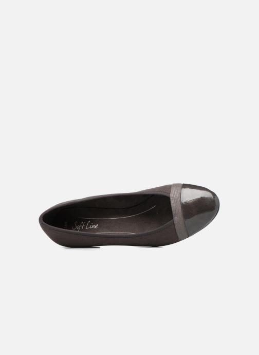 Ballerina's Jana shoes Luija Grijs links