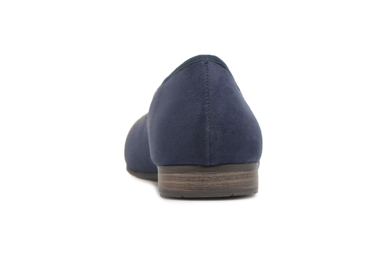 Ballerines Jana shoes Luija Bleu vue droite