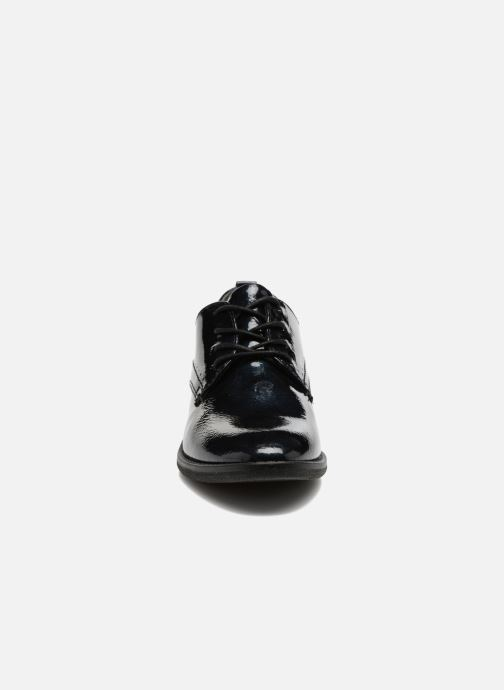 Chaussures à lacets Jana shoes Duna Bleu vue portées chaussures