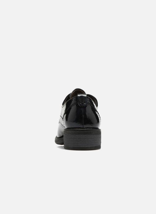 Chaussures à lacets Jana shoes Duna Bleu vue droite
