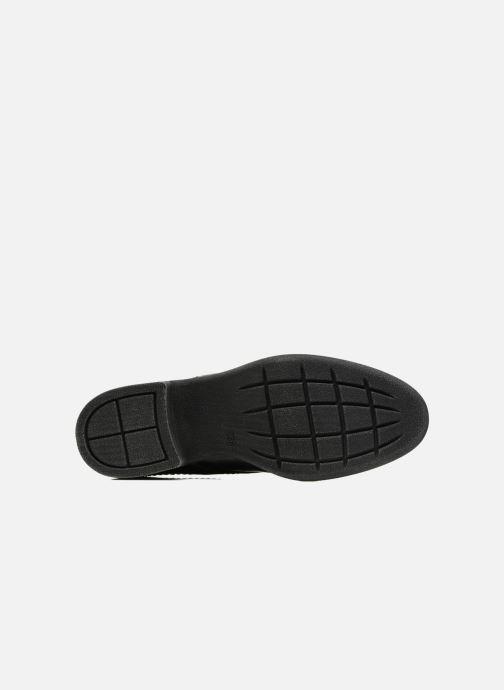 Chaussures à lacets Jana shoes Duna Bleu vue haut