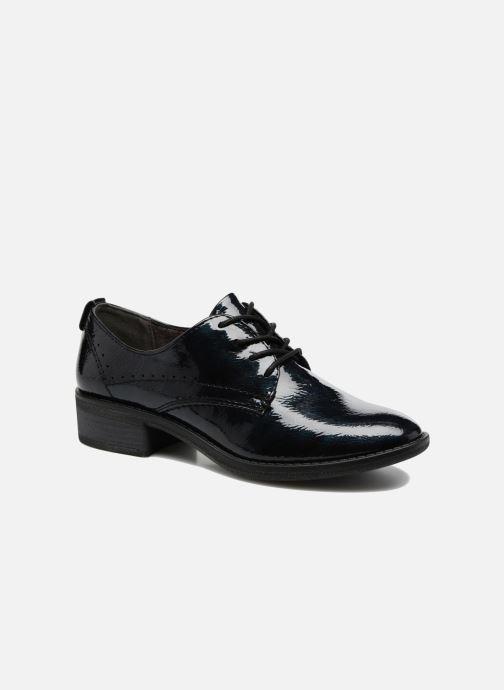 Chaussures à lacets Jana shoes Duna Bleu vue détail/paire