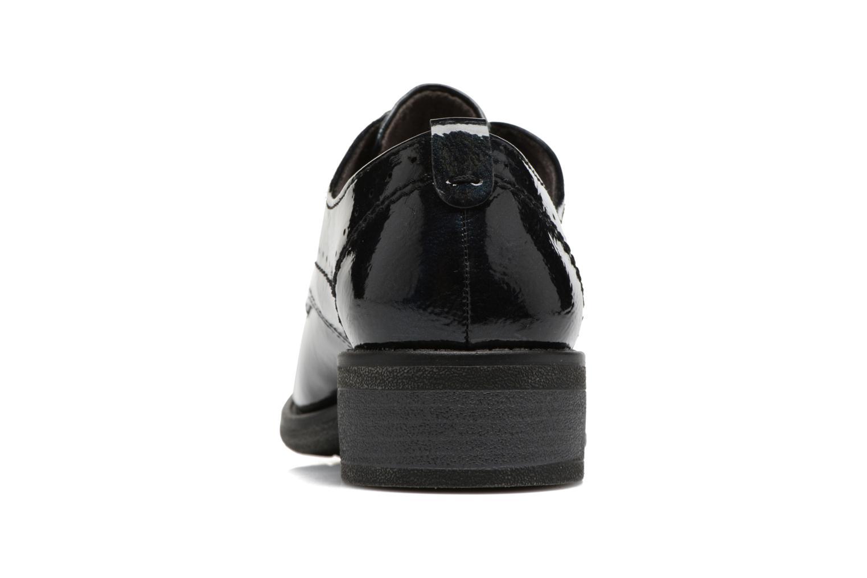 Scarpe con lacci Jana shoes Duna Azzurro immagine destra