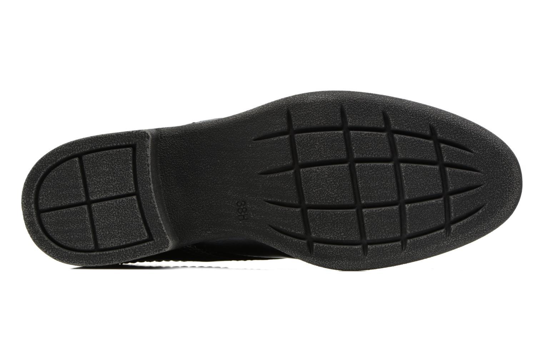Scarpe con lacci Jana shoes Duna Azzurro immagine dall'alto