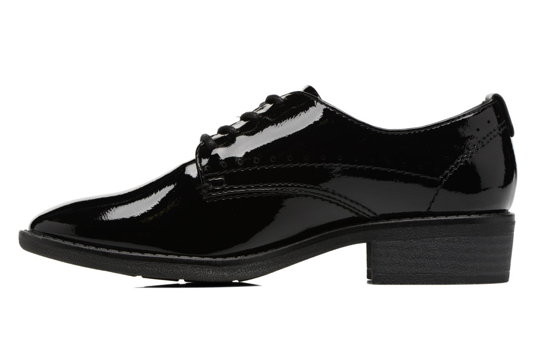 Scarpe con lacci Jana shoes Duna Nero immagine frontale