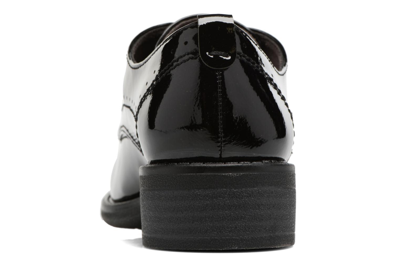 Scarpe con lacci Jana shoes Duna Nero immagine destra