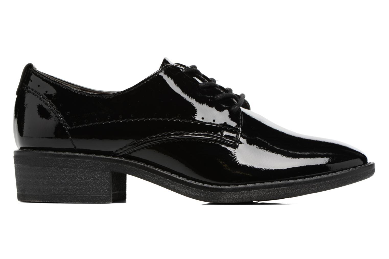 Zapatos con cordones Jana shoes Duna Negro vistra trasera