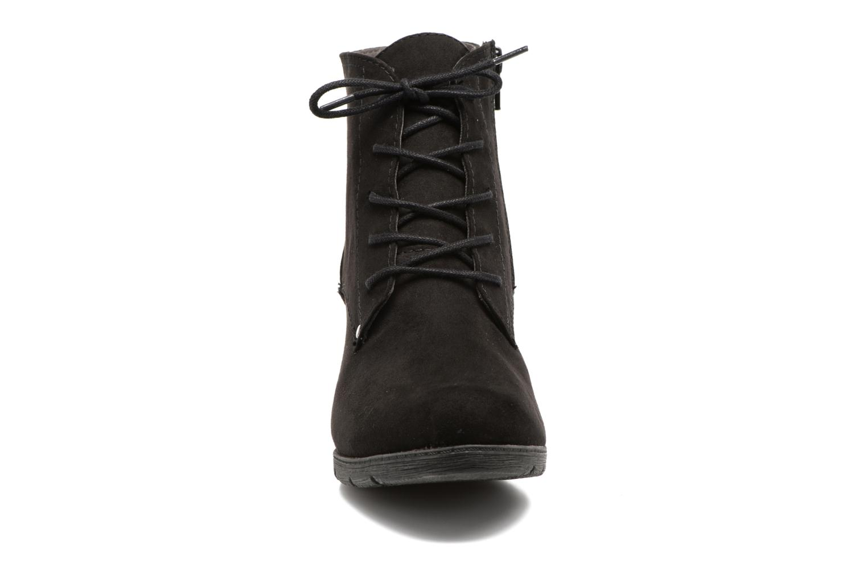 Bottines et boots Jana shoes Pola Noir vue portées chaussures