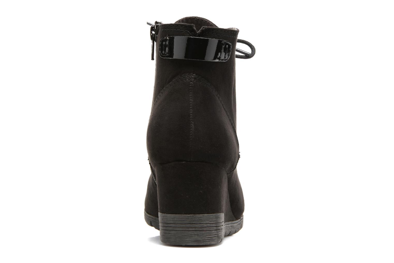 Bottines et boots Jana shoes Pola Noir vue droite