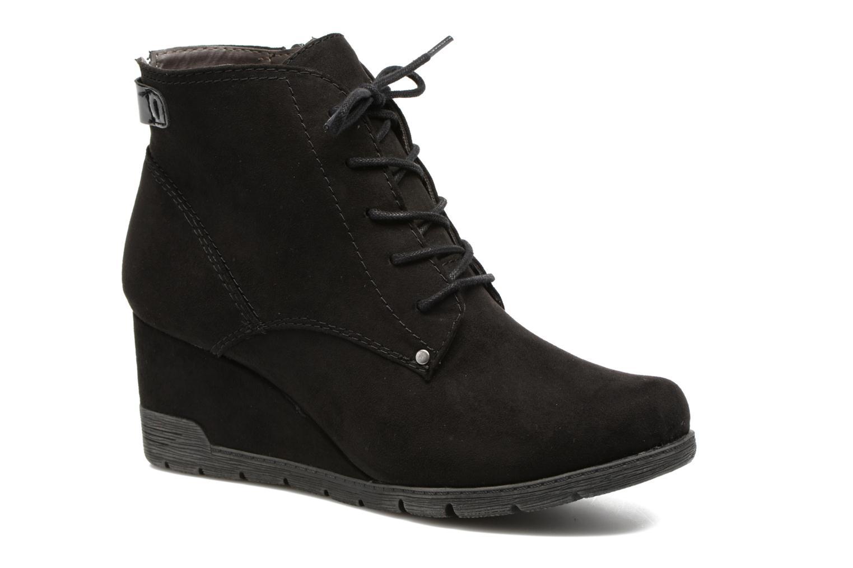 Bottines et boots Jana shoes Pola Noir vue détail/paire