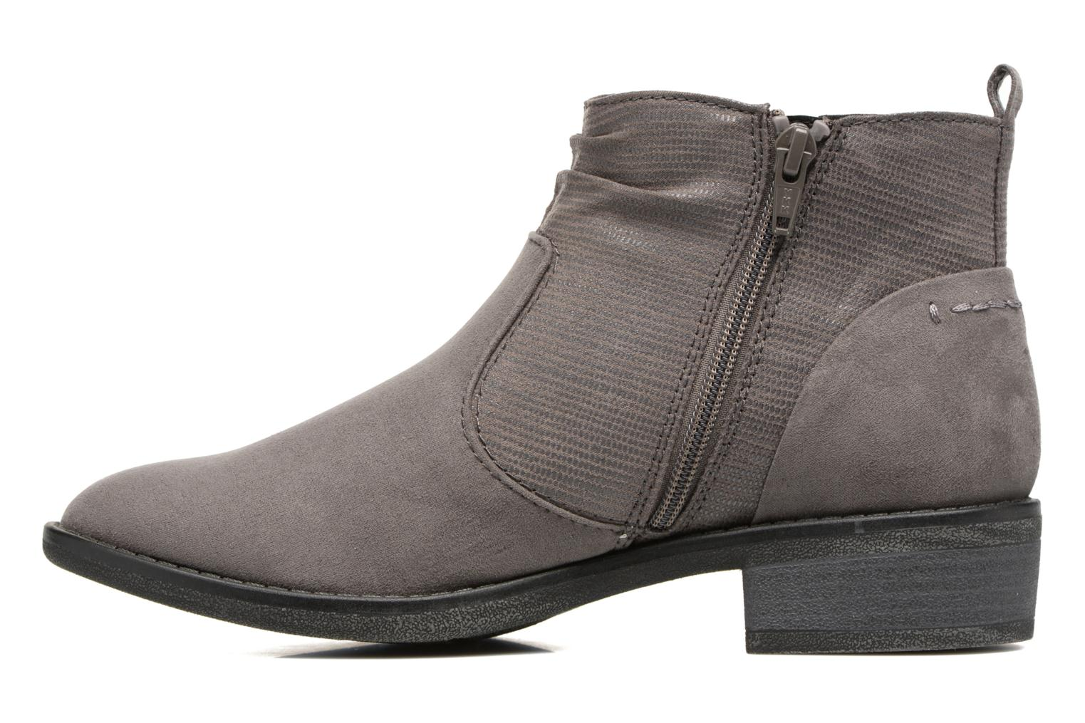 Ankle boots Jana shoes Jubi Grey front view
