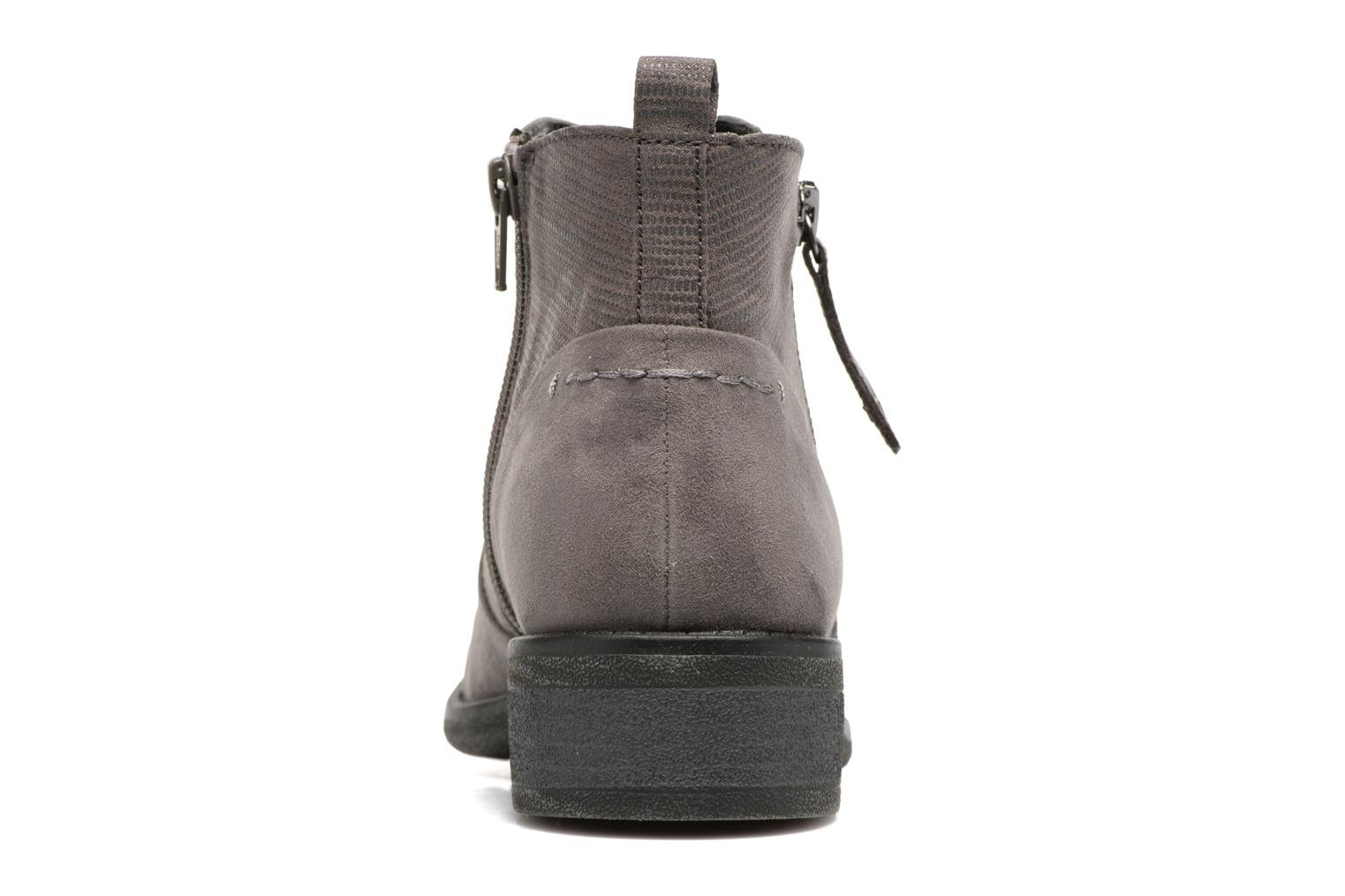 Ankle boots Jana shoes Jubi Grey view from the right