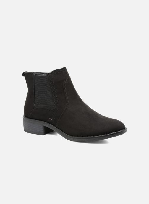 Ankle boots Jana shoes Myat Black detailed view/ Pair view