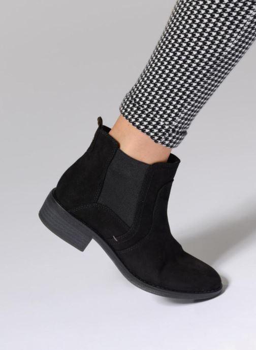 Bottines et boots Jana shoes Myat Beige vue bas / vue portée sac