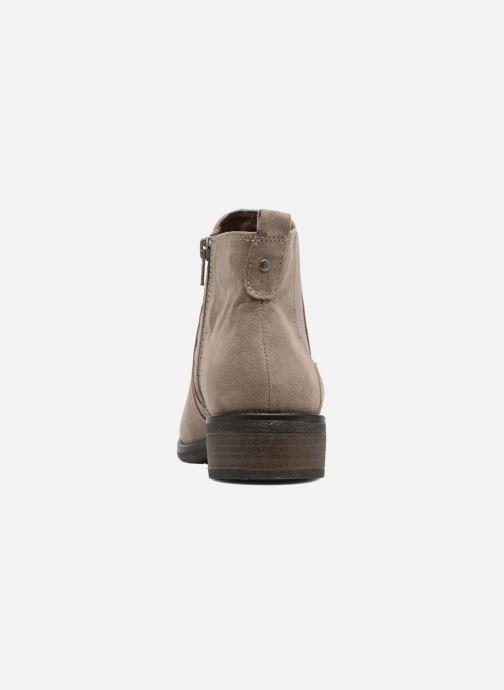 Bottines et boots Jana shoes Myat Beige vue droite