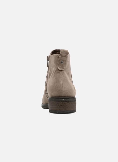 Ankle boots Jana shoes Myat Beige view from the right