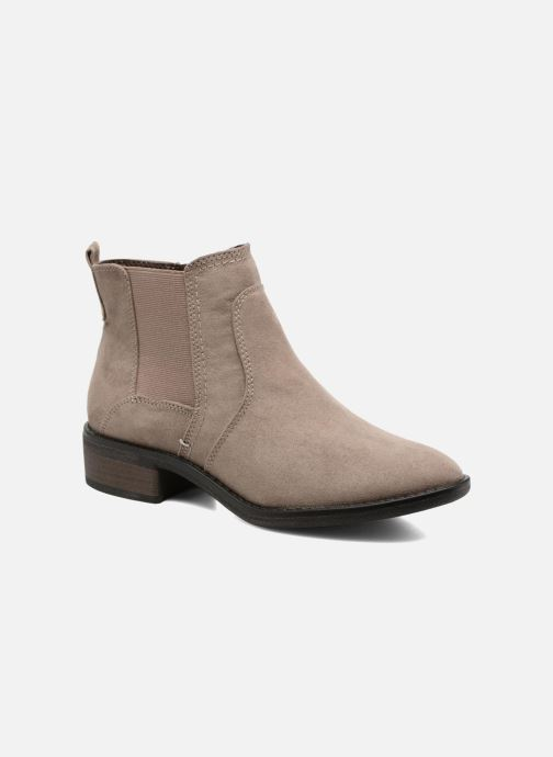 Ankle boots Jana shoes Myat Beige detailed view/ Pair view
