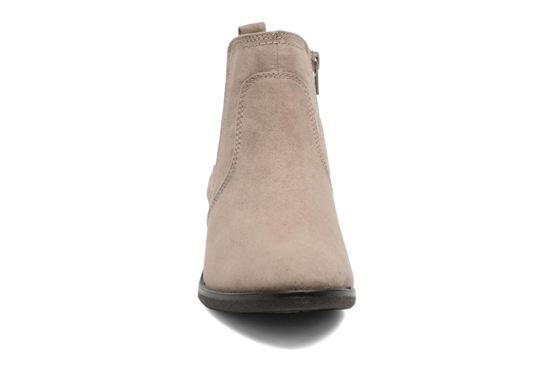 Ankle boots Jana shoes Myat Beige model view