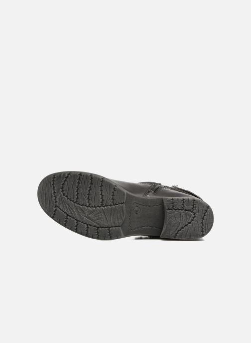 Bottines et boots Jana shoes Viorne 2 Noir vue haut