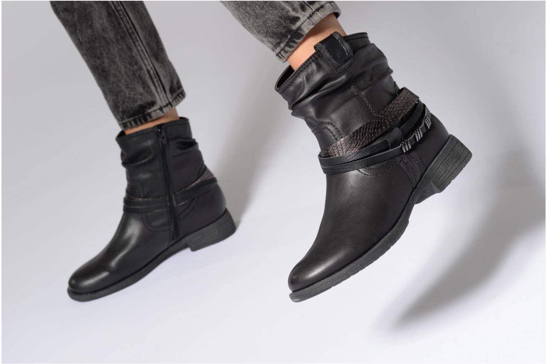 Bottines et boots Jana shoes Viorne 2 Noir vue bas / vue portée sac