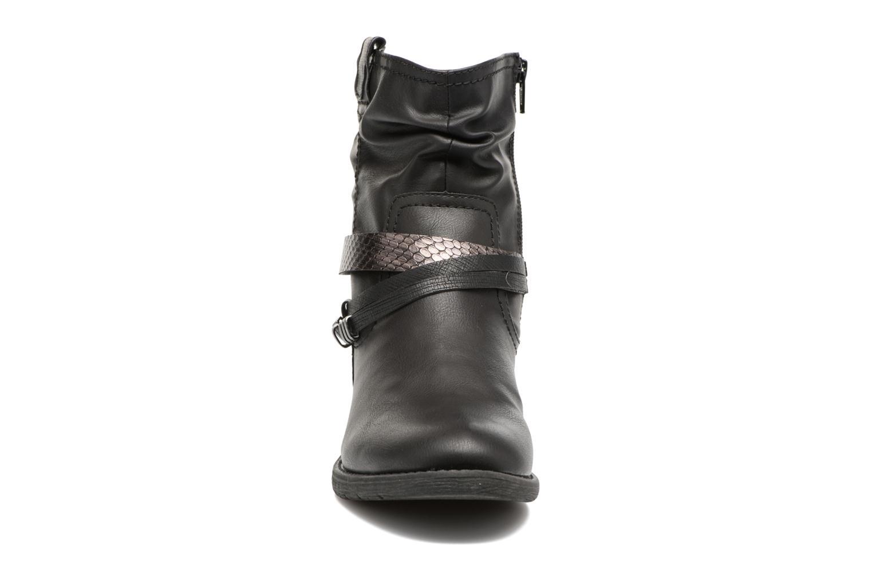 Bottines et boots Jana shoes Viorne 2 Noir vue portées chaussures