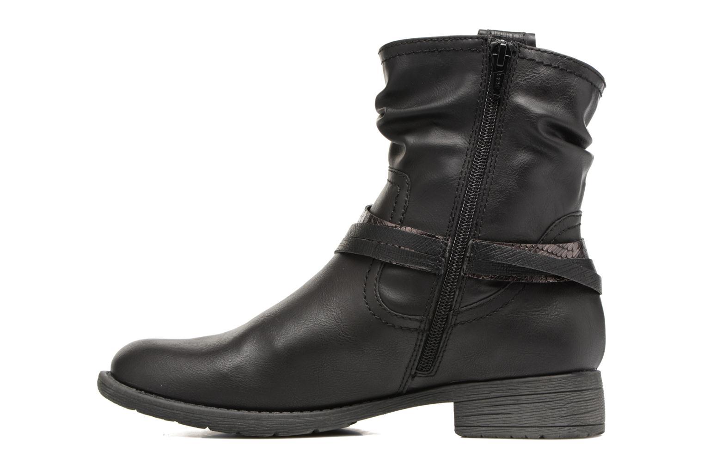 Bottines et boots Jana shoes Viorne 2 Noir vue face