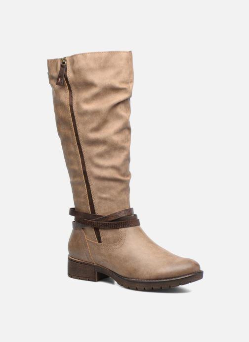 Jana chaussures Yelena (Beige) - bottes chez