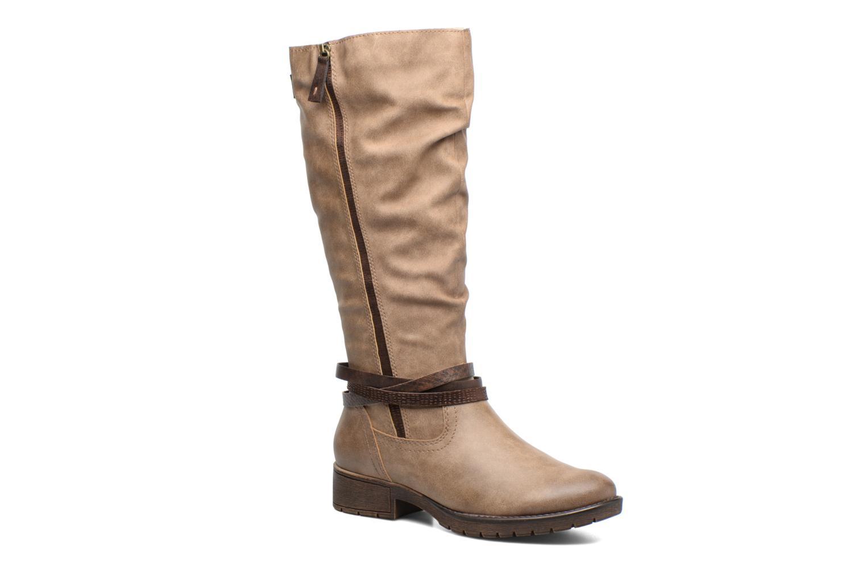 Bottes Jana shoes Yelena Beige vue détail/paire