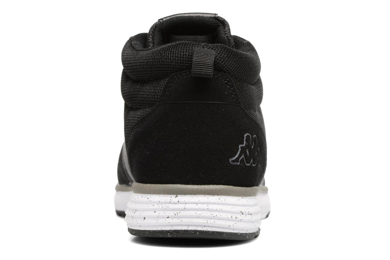 Sneakers Kappa Nassau Mid Zwart rechts