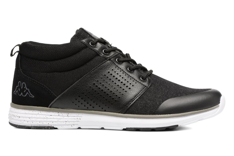 Sneakers Kappa Nassau Mid Zwart achterkant