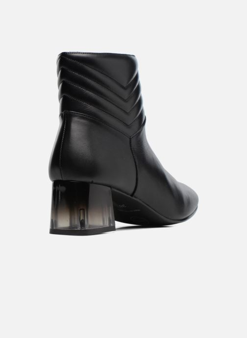Ankle boots Made by SARENZA Winter Ski #4 Black front view
