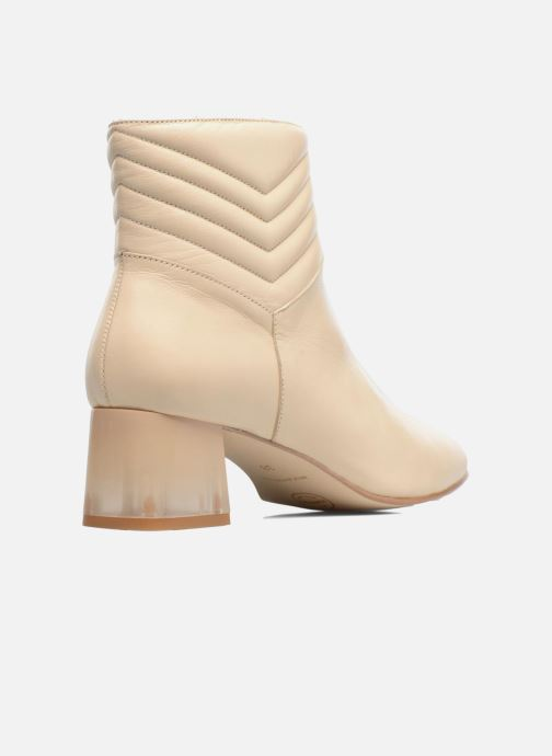 Bottines Made Boots Blanc By Et Cuir Lisse Ski4 Cassé Sarenza Winter Yy7vbf6g