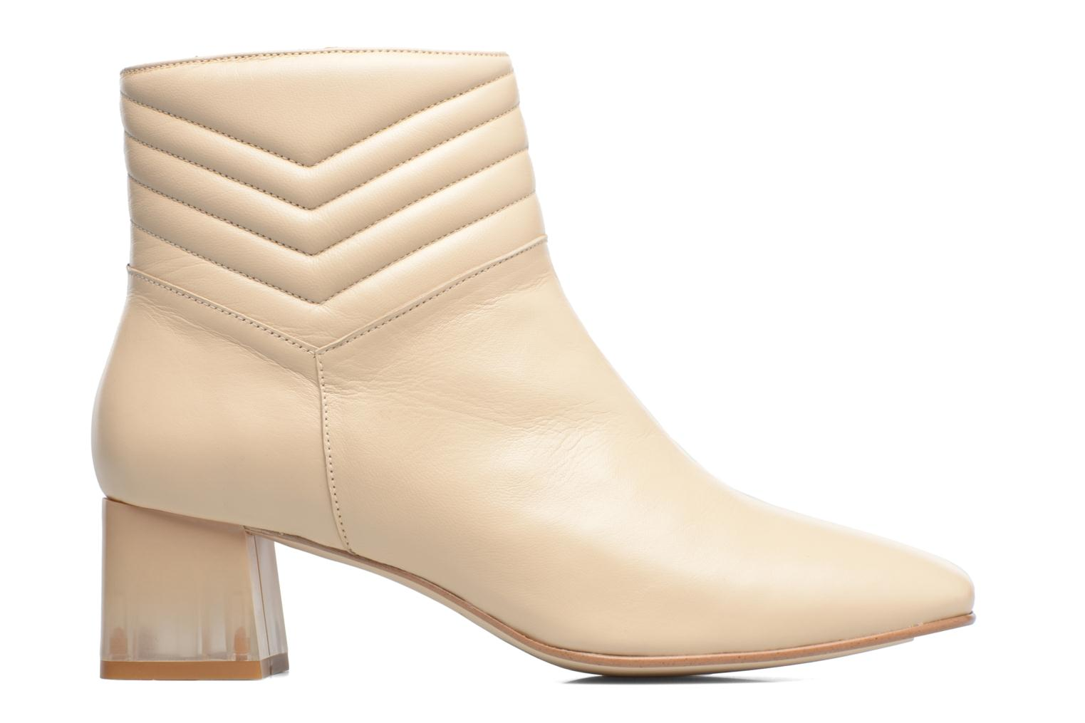 Ankle boots Made by SARENZA Winter Ski #4 White detailed view/ Pair view