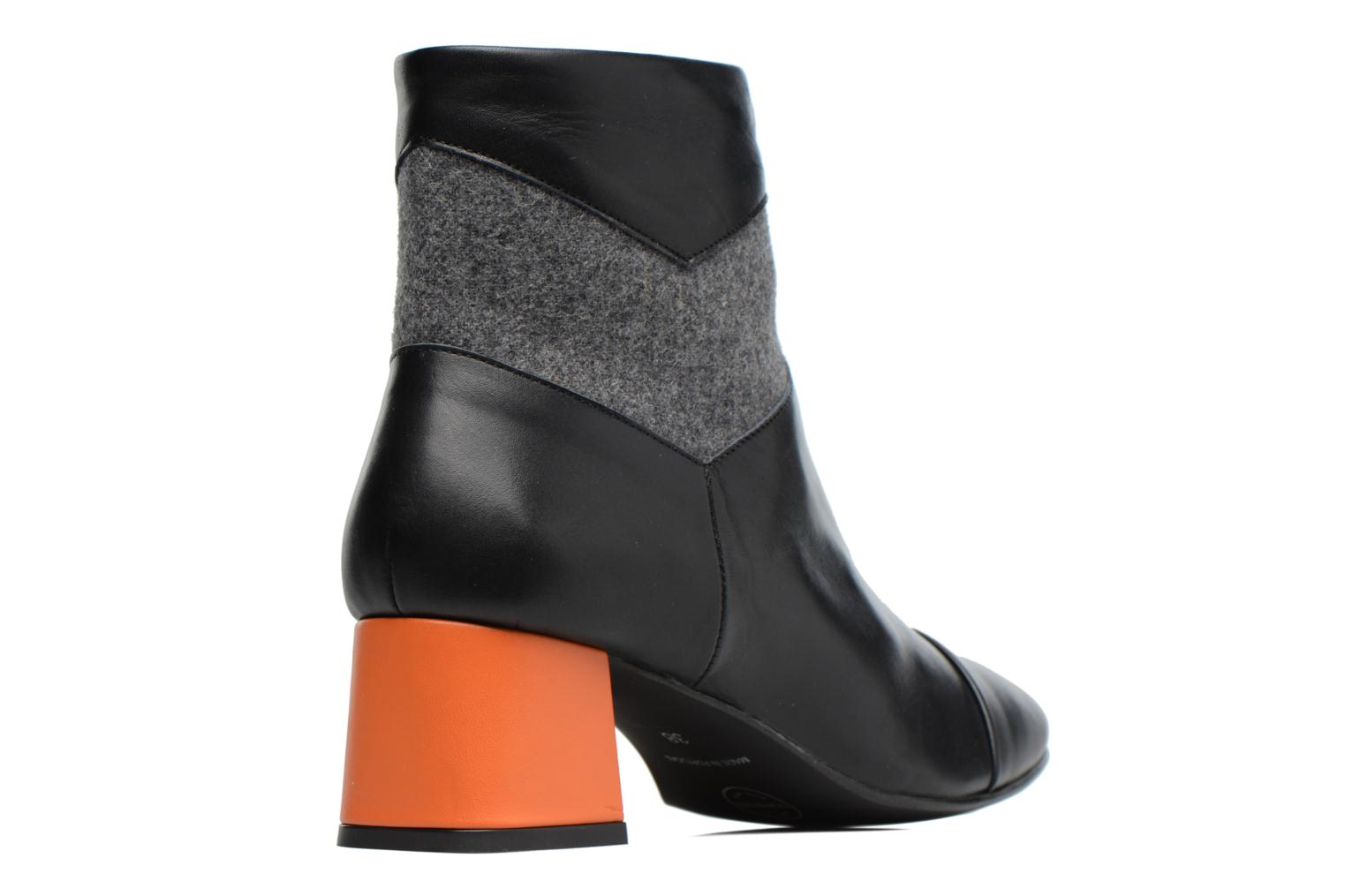 Ankle boots Made by SARENZA Winter Ski #5 Black front view
