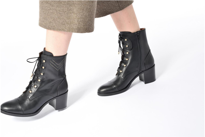 Bottines et boots Made by SARENZA Boots Camp #22 Noir vue bas / vue portée sac