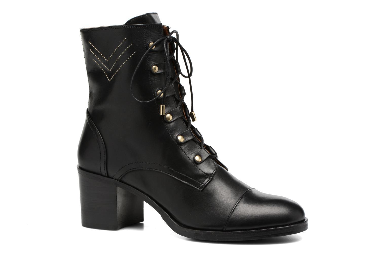 Bottines et boots Made by SARENZA Boots Camp #22 Noir vue droite