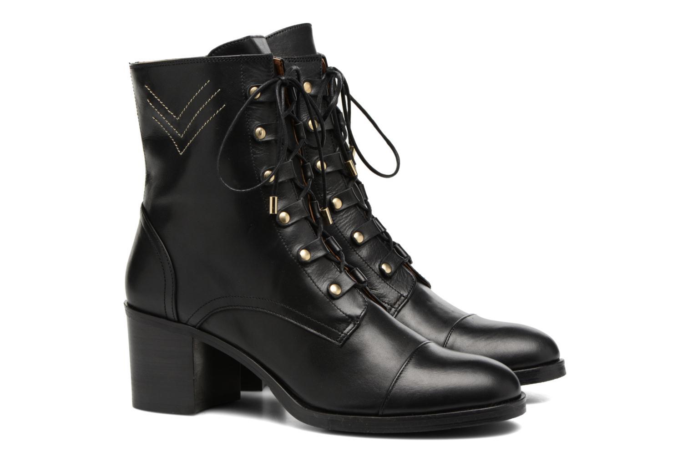 Bottines et boots Made by SARENZA Boots Camp #22 Noir vue derrière
