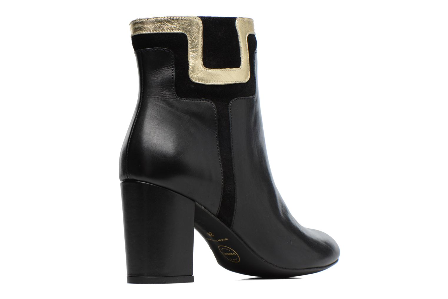 Ankle boots Made by SARENZA Boots Camp #10 Black front view