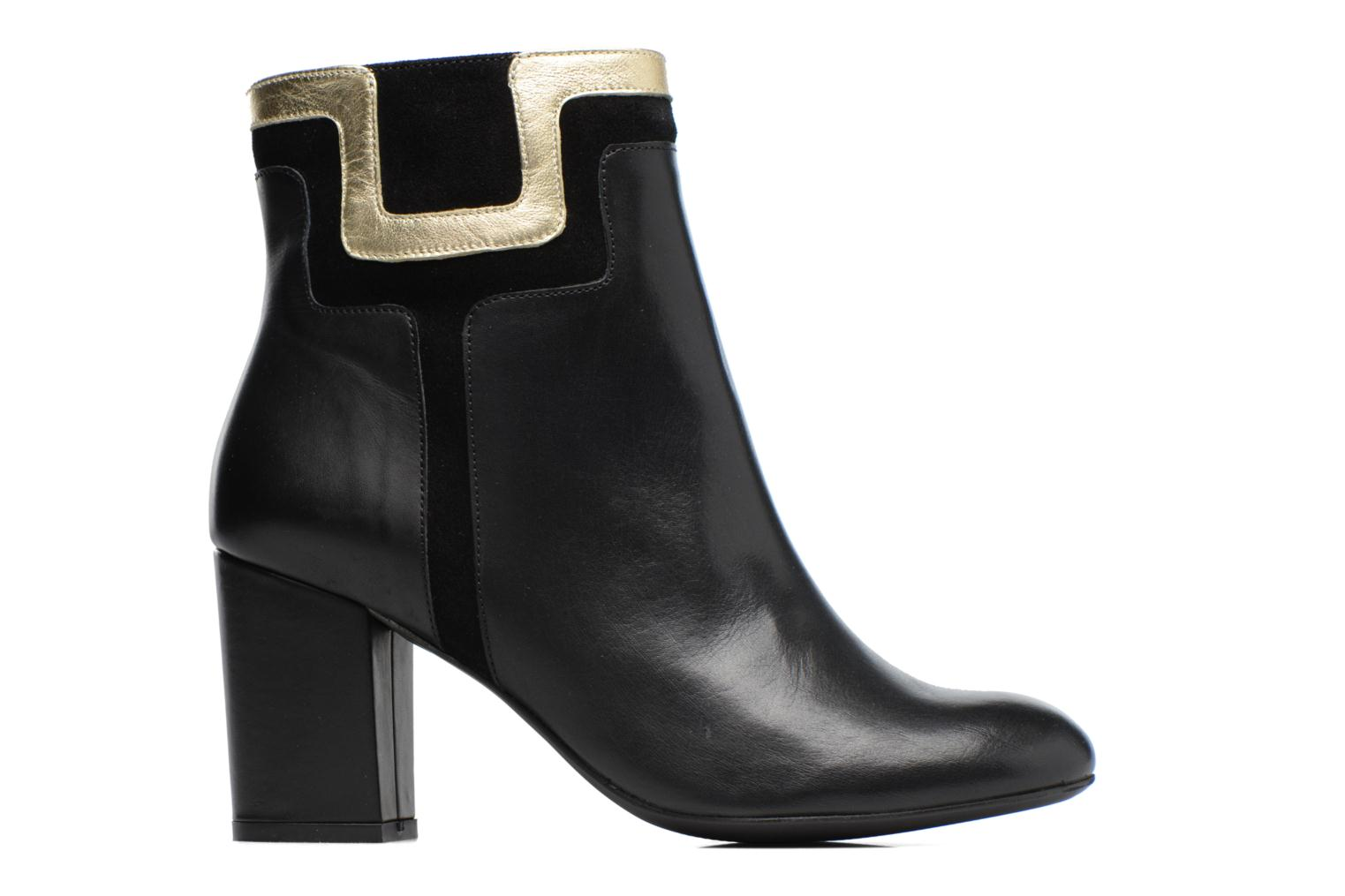 Ankle boots Made by SARENZA Boots Camp #10 Black detailed view/ Pair view