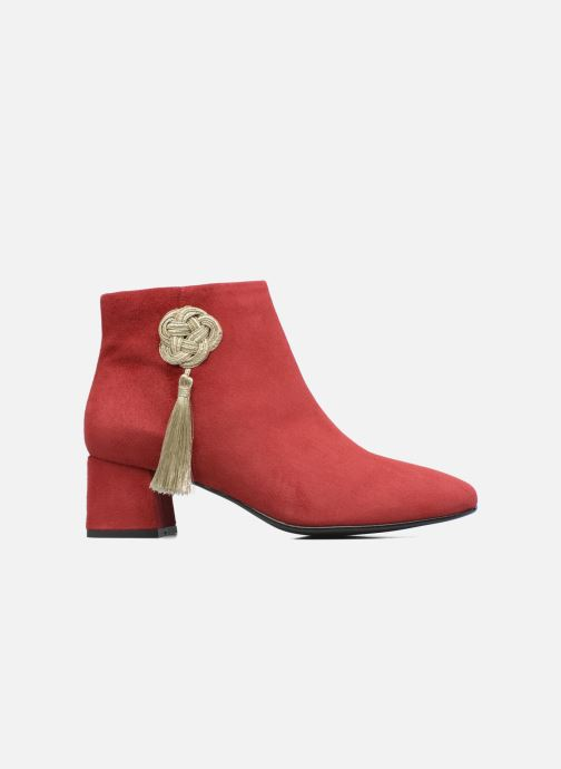 Ankle boots Made by SARENZA Boots Camp #3 Red detailed view/ Pair view