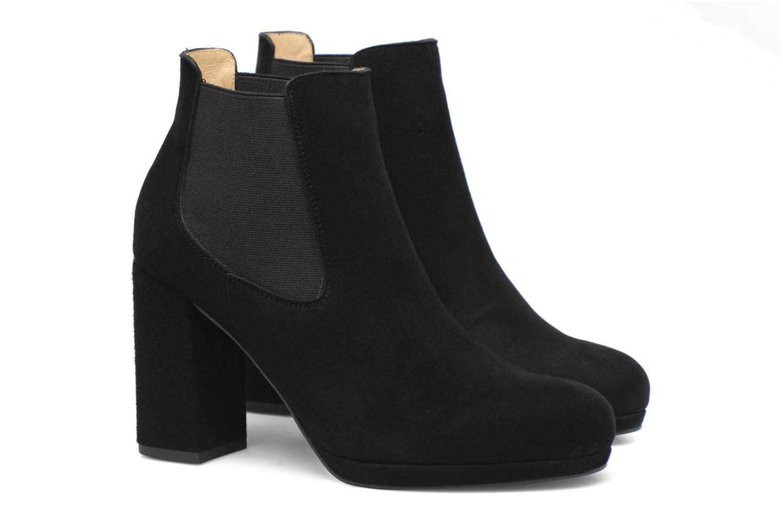 Bottines et boots Made by SARENZA Winter Freak #3 Noir vue derrière