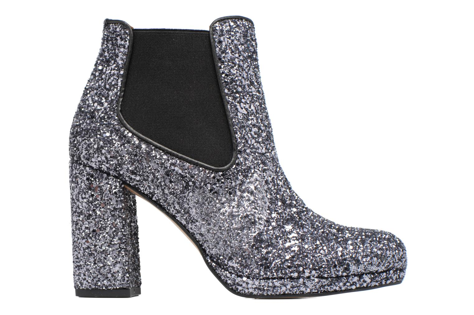 Ankle boots Made by SARENZA Winter Freak #3 Silver detailed view/ Pair view