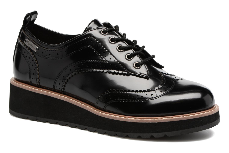 Zapatos con cordones Pepe jeans RAMSY tassel Negro vista 3/4