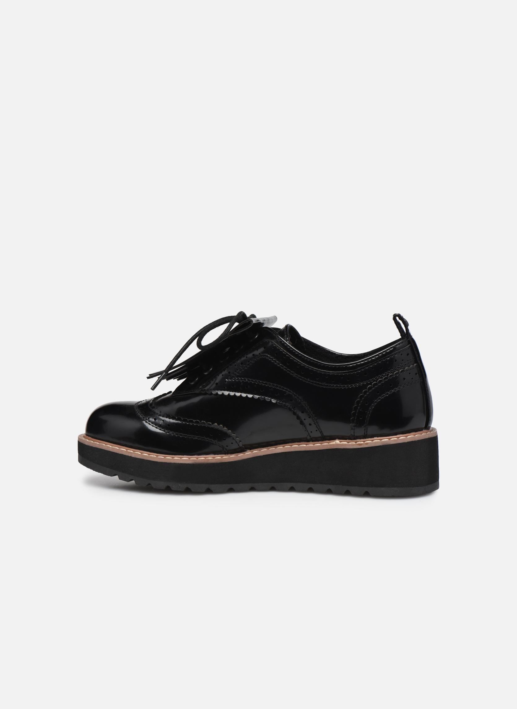 Zapatos con cordones Pepe jeans RAMSY tassel Negro vista de frente