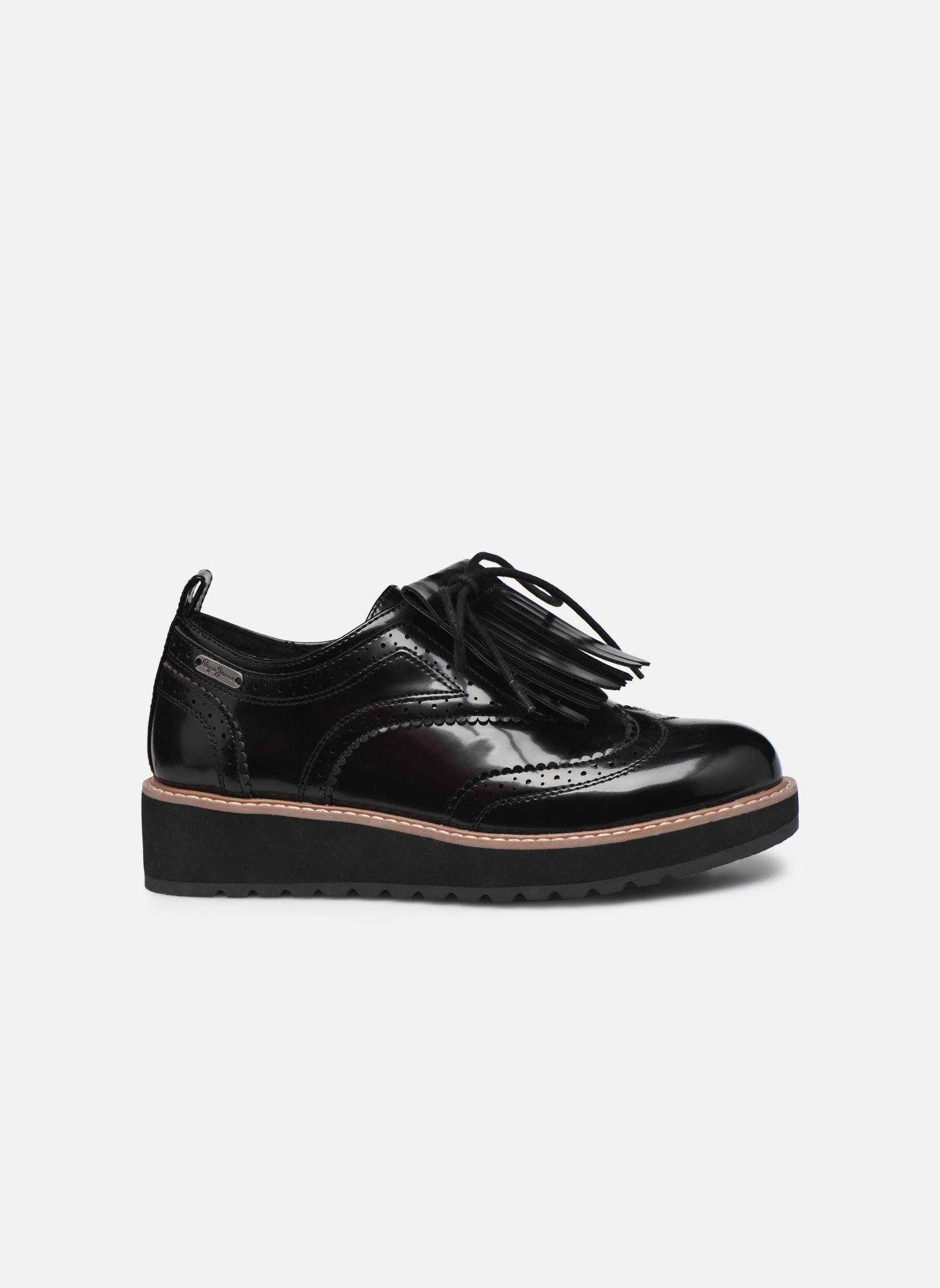 Zapatos con cordones Pepe jeans RAMSY tassel Negro vistra trasera