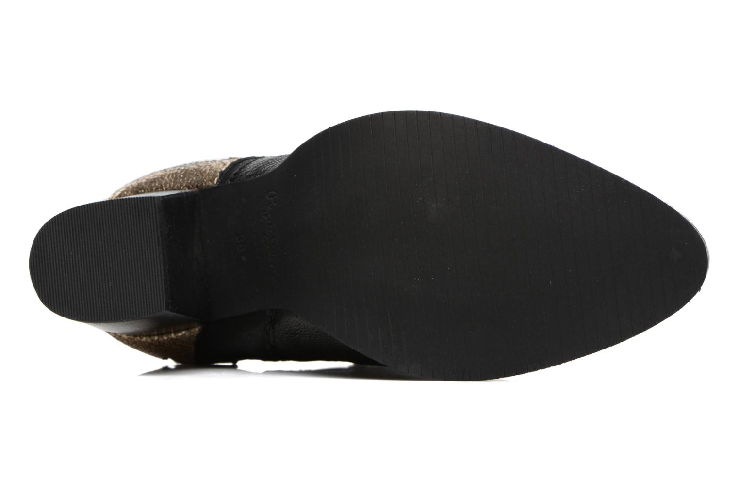 Ankle boots Pepe jeans DOLLY BURN Black view from above