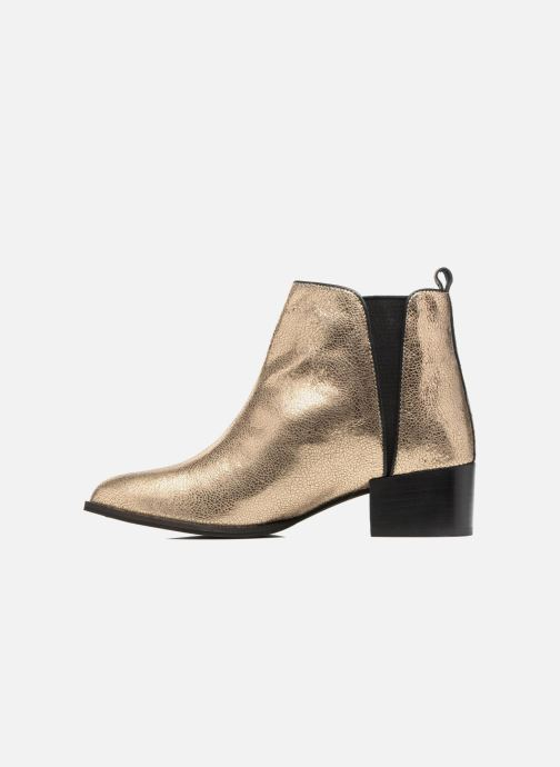 Bottines et boots Pepe jeans WATERLOO NIGHT Or et bronze vue face