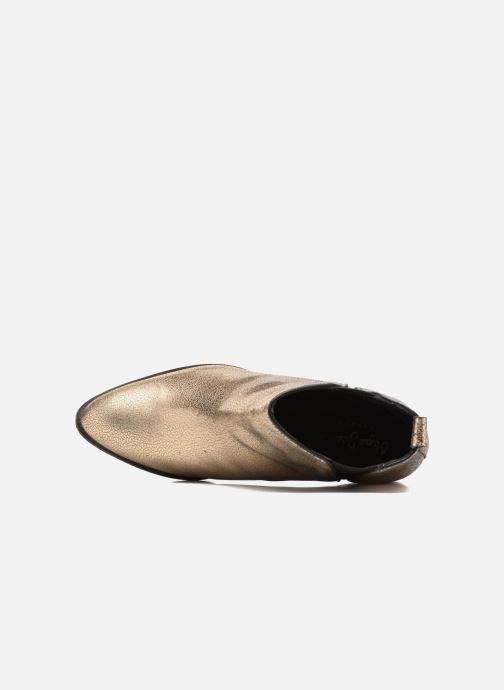 Bottines et boots Pepe jeans WATERLOO NIGHT Or et bronze vue gauche