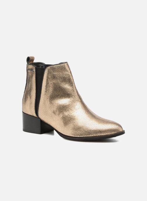 Bottines et boots Pepe jeans WATERLOO NIGHT Or et bronze vue détail/paire